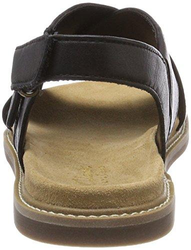 Donna alla Sandali Calm Corsio Cinturino Nero Caviglia Leather Clarks con Black xwqTpA6wF