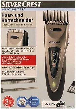 Silvercrest Con pelos y Cortabarbas 4-30mm Longitud de corte: Amazon.es: Salud y cuidado personal