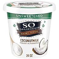 So Delicious Dairy Free Coconutmilk Yogurt Alternative, Unsweetened, 24 oz