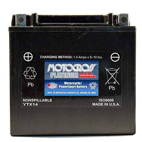 12V 12Ah Battery for BMW 800 F800ST, GS, GT, R, ADV 2015-2016