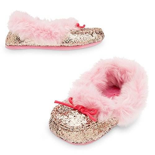 Disney Princess Deluxe Slippers for Girls Size 9/10 Pink