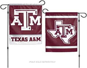 Wincraft, NCAA Texas A and M Aggies 12x18 Garden Flag, 2- Sided, Team Color