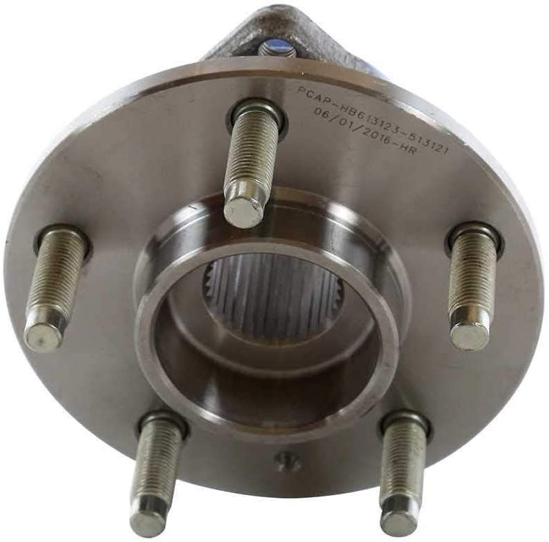 AutoShack HB613123PR Pair of 2 Front or Rear Wheel Hub Bearing Assembly Fits Driver and Passenger Side