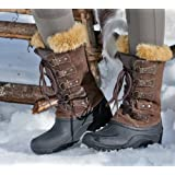 Mountain Horse Ladies Suede Eclipse Winter Boots - Size:08 Color:Mocca