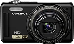 Olympus VR-310 - Cámara Digital Compacta, 14 MP (2.7 pulgadas, 10x Zoom óptico)