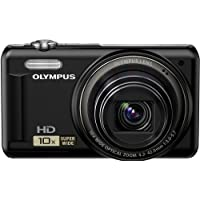 Olympus VR-310 14.0-Megapixel Digital Camera - Black
