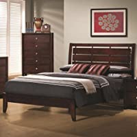 Coaster B1 = Headboard + Footboard, Box 1 Of 2-Merlot