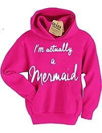 I'm actually a mermaid hoodie girls sweatshirt