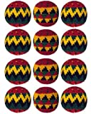 Set of 12 Hacky Sacks - Rasta