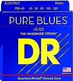 DR Strings PB5-45 Pure Blues Bass Guitar Strings