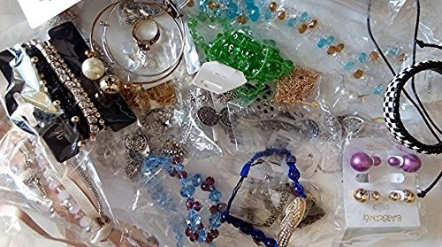 Jewelry Lots Mixed Assorted Grab Bag Wholesale Jewelry lot for Women 50pcs from EINN
