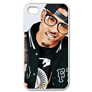CTSLR August Alsina Hard Case Cover Skin for Apple iPhone 5 5s- 1 Pack - Black/White - 2
