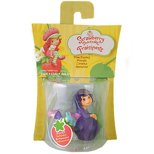 Strawberry Shortcake Basic Mini Figure Plum Pudding