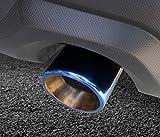 smartauto スバル 新型フォレスターSK系 FORESTER パーツ アクセサリー エキパイ マフラーカッター (焼入れ) ANSF024-2