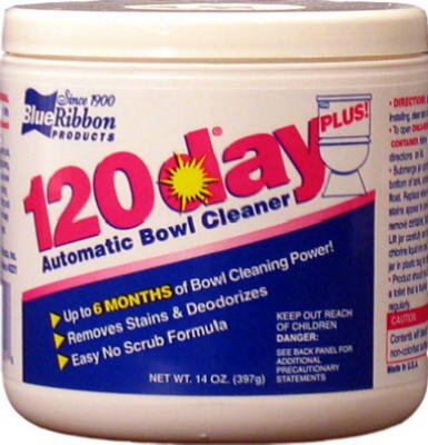 Blue Ribbon Bowl Cleaner Automatic 14 Oz by 120-Day Plus (Image #1)
