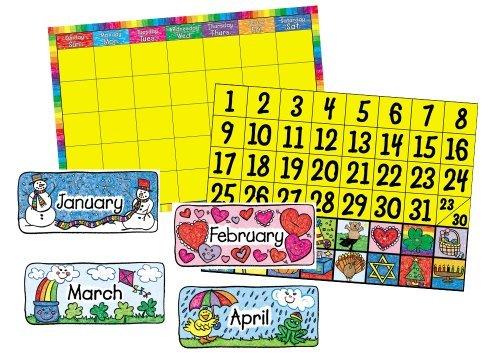 Carson Dellosa Calendar Set: Kid-Drawn Bulletin Board Set (3270) Office Supplies Store Online, ofice - Kid Drawn Bulletin Board