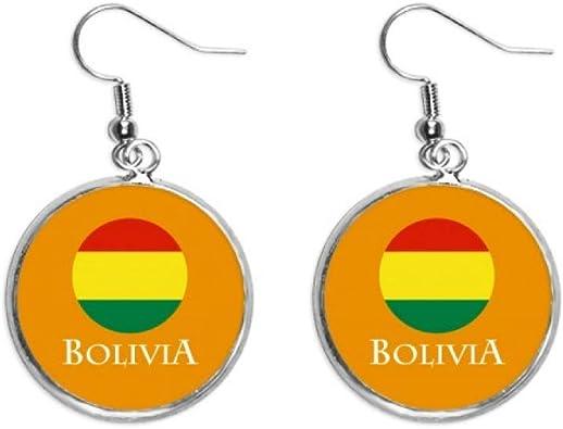 Bolivia Sudamérica España pendientes colgantes de plata para mujer: Amazon.es: Joyería