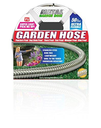 Metal Garden Hose 50'