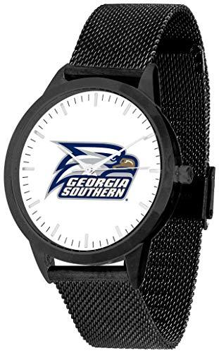 Georgia Southern Eagles - Mesh Statement Watch - Black Band - Black Dial ()