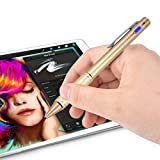 Zspeed Fine Point Stylus, Active Stylus with Pen Clip,Compatiable for Most Touch Screen Device