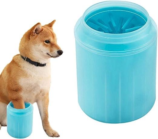 DAXINYANG Mascotas Gatos Perros Pie Taza Limpia para Perros Gatos Herramienta de Limpieza Cepillo de Lavado de Plástico Suave Lavadora de Pata Accesorios para Mascotas,GreenXS: Amazon.es: Productos para mascotas