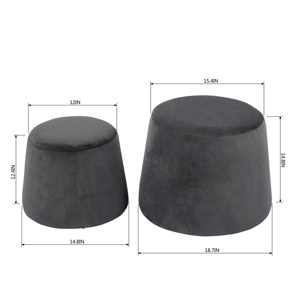 ihouse Transistor-, Innen, für Stühle, Dekoration für Wohnzimmer, Schlafzimmer, Rosa grau