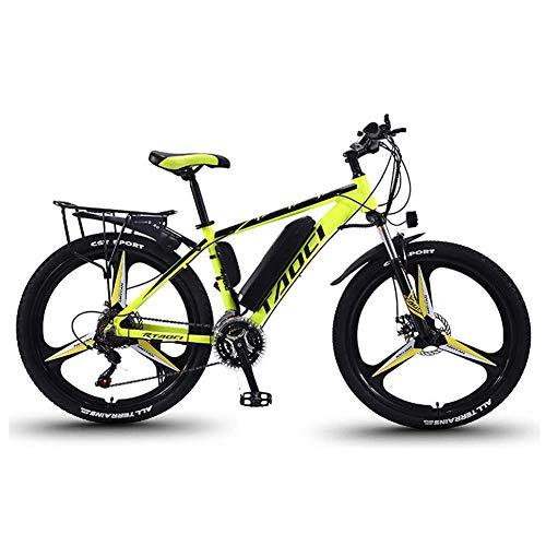 Elektrische fietsen voor volwassenen, Magnesium Alloy ebikes Fietsen All Terrain, 26″ 36V 350W 13Ah verwisselbare lithium-ion batterij Mountain Ebike voor Mens