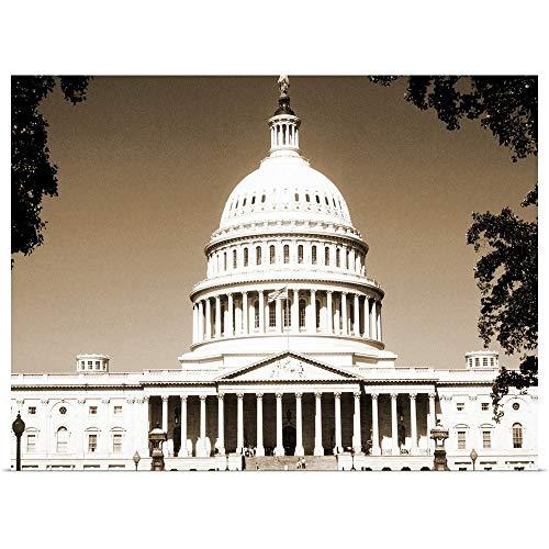 GREATBIGCANVAS Poster Print Entitled Capital Building, Washington DC by 30