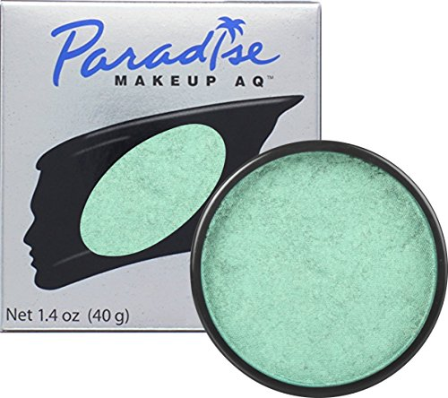Mehron Makeup Paradise Makeup AQ Face & Body Paint - Vert Bouteille/Green, Briiant Series - - Costume Rich Famous Ideas And