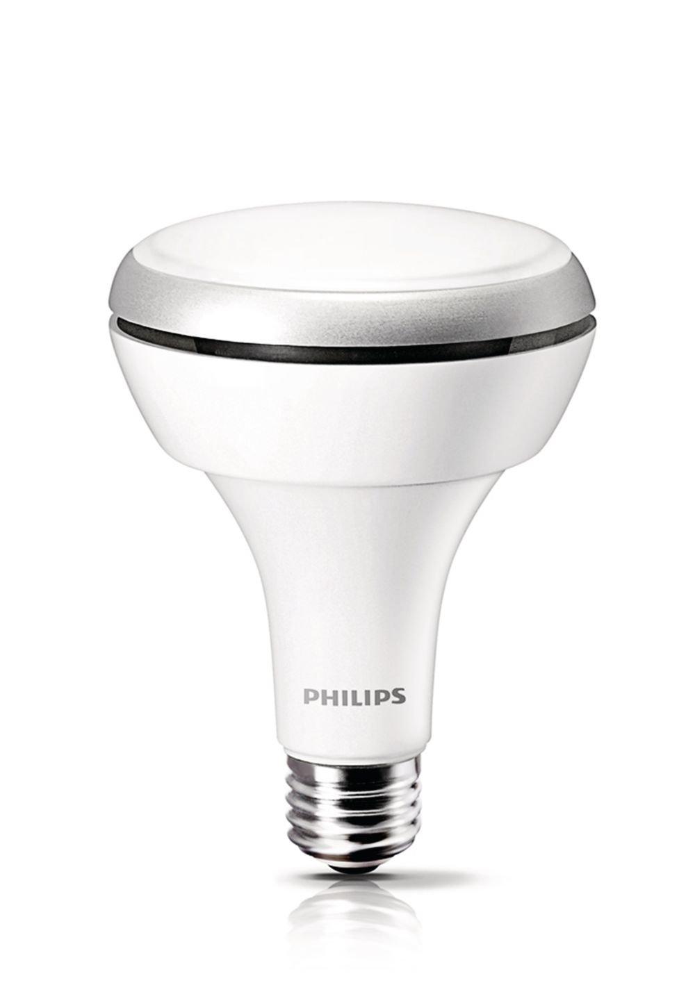 Philips 425306 8.5 Watt (65-Watt) BR30 Indoor Daylight (5000K) LED ...