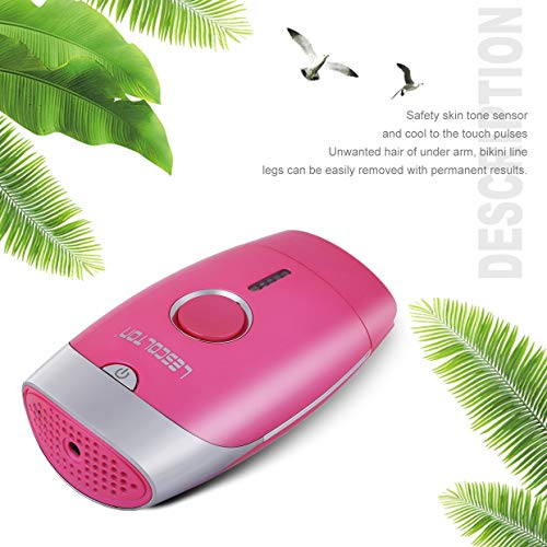 Qewmsg LESCOLTON Safe Home Intense Pulsed Light Painless Hair Removal System With Razor