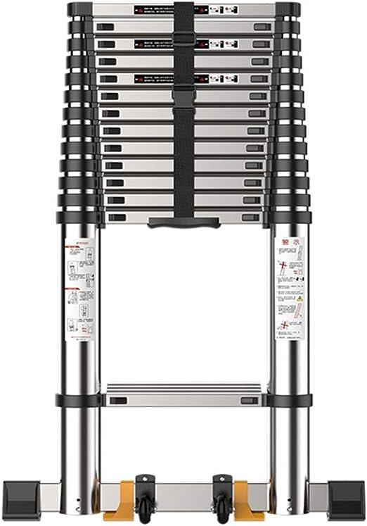 ZR- Aluminio Escalera Telescópica De Extensión (7.5ft-19.3ft ...