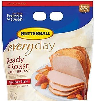 Butterball boneless turkey breast roast (48 oz) from costco.