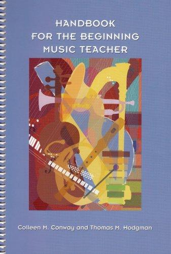 Music Teachers Record Book - Handbook for the Beginning Music Teacher