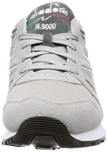 Diadora N9000 Nyl Ii - Zapatillas Unisex adulto Gris / Blanco