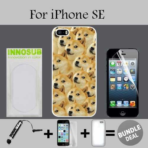 51gzH0Vp6CL amazon com mr doge meme custom iphone se cases white rubber,bundle