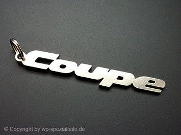 Audi Coupé Llavero Emblema de acero inox. alta calidad ...