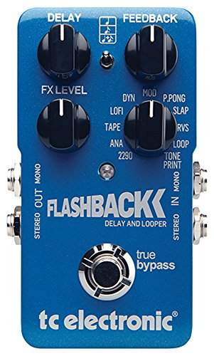 TC Electronic FlashBack Delay and Looper Guitar Delay Effect Pedal by TC Electronic