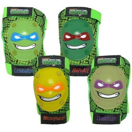 Teenage Mutant Ninja Turtles 16'' Boys' Bike with matching TMNT Raphael Helmet, TMNT Pads and Gloves, Bundle by Teenage Mutant Ninja Turtles (Image #4)