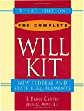 The Complete Will Kit, F. Bruce Gentry and Jens C. Appel, 0471401404