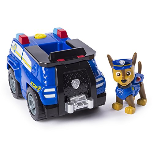 Paw Patrol, Chase's Transforming Police Cruiser with Flip-Open Megaphone, for Ages 3 & Up]()
