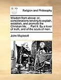 Wisdom from Above, John Mapletoft, 1140762125