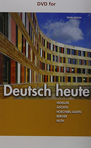 DVD for Moeller/Huth/Hoecherl-Alden/Berger/Adolph's Deutsch heute, 10th
