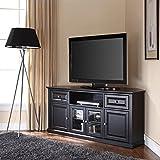 Crosley Furniture 60-inch Corner TV Stand - Black