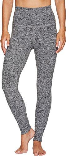 Beyond Yoga Women's High Waist Long Leggings, Black/White Space Dye, Small -