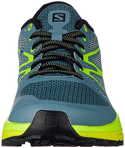 acid Hombre Salomon Trail stormy Running Zapatillas Lime De Sense lime Gris Para 000 Green Weather Escape 0qwrRP0