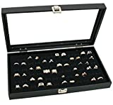 Novel-Box-Glass-Top-Black-Jewelry-Display-Case-72-or-36-Slot-Ring-Display-Insert-Custom-NB-Pouch