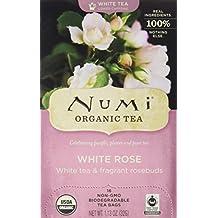 Numi Organic Tea White Rose Tea, 16 ct