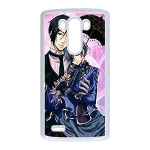 LG G3 Phone Case Cover Black Butler BB6616