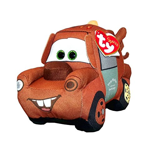 Cars Mater Plush (Disney Pixar Cars 3 Mater Ty Plush Toy, 5 X 4 X 7.5 inches)